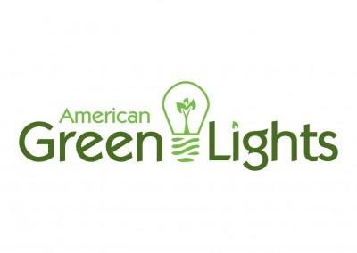 American Green Lights | Energy Efficient Lighting | Logo Design