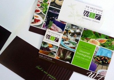 The Wild Thyme Company Collateral