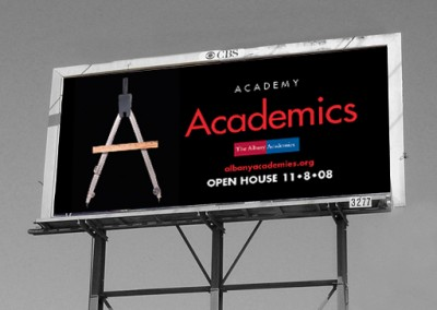 The Albany Academies Billboard