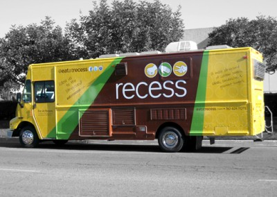 Eat at Recess Vehicle Wrap